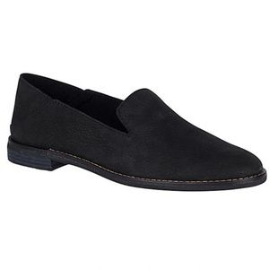 Sperry Black Seaport Levy Leather Loafer 7